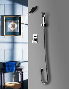 Sprinkle®シャワー水栓  ,  コンテンポラリー  with  クロム シングルレバー 五つ  ,  特徴  for 滝状吐水タイプ / 組み合わせ式 / 壁式