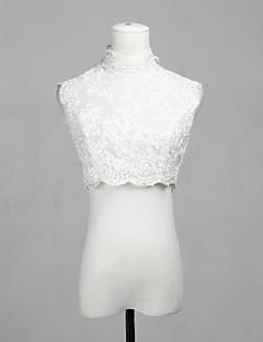 personlig nydelig ermeløs blonder kveld / uformell bryllup wrap / kveld jakke (flere farger) bolero skuldertrekk