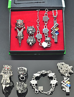 Jewelry Inspired by Final Fantasy Tidus Anime/ Video Games Cosplay Accessories Necklace / Bracelet Silver Alloy Male