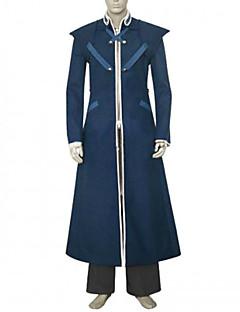Inspirovaný Final Fantasy Reeve Tuesti Video Hra Cosplay kostýmy Cosplay šaty Patchwork Czarny Dlouhé rukávy Kabát / Kalhoty