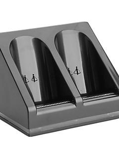2 x batteria e della stazione caricatore doppio dock per Wii / Wii U