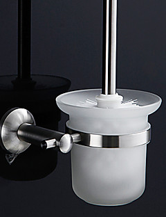 Contemporary Durable Stainless Steel Toiletbrush Holder
