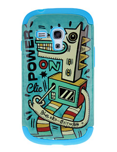 Cockhorse Mønster Aftagelig TPU og plast Bagside Case til Samsung Galaxy S3 Mini I8190