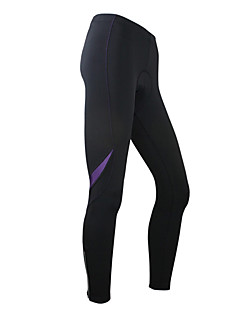 SANTIC-Women's Cycling Tights/Pants Warm Fleece Lining Chinlon Spandex Thermal