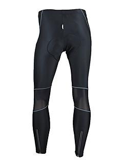 SANTIC מכנסי רכיבה לגברים אופנייםנושם שמור על חום הגוף עמיד עיצוב אנטומי לביש חדירות גבוהה לאוויר (מעל 15,000 גרם) 4D לוח מפחית שפשופים
