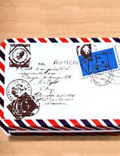 Rektangel Envelope Pattern Tin Box