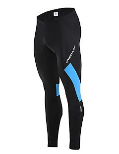 MYSENLAN® Calças Para Ciclismo Homens Moto Mantenha Quente / A Prova de Vento / Forro de Velocino / Vestível Calças Poliéster / Tosão