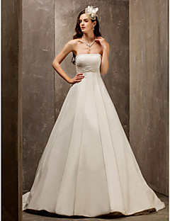 Lanting Bride® A-line / Princess Misses / Rectangle / Inverted Triangle / Petite / Pear / Hourglass / Plus Sizes Wedding Dress - Elegant