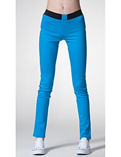 Wujimeng Модный Упругие Брюки для похудения (синий)
