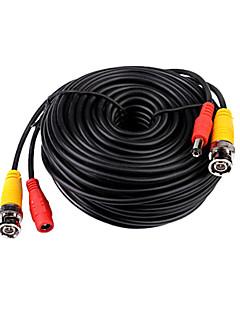 40 metri (o 131 piedi) bnc video e di alimentazione 12V DC cavo integrato