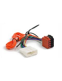 ISO Wire Harness Plug Adapter för NISSAN 2007 + SUBARU Impreza 2007 +