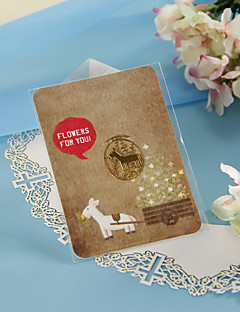 Golden Horse Bookmark