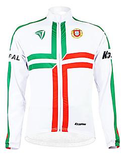 KOOPLUS® Cycling Jacket Men's Long Sleeve Bike Breathable / Thermal / Warm / Fleece Lining / Moisture Permeability / WearableJersey /