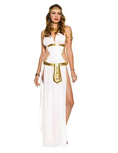 Cosplay Kostuums Feestkostuum Sprookje Godin Festival/Feestdagen Halloweenkostuums Patchwork Kleding Riem Ketting Halloween Carnaval