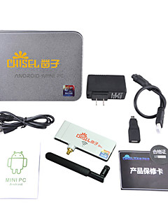 Chiseltek 5G wifi Android 4.2 TV Player Rockchip3188 1800MHz Quad Core (Wi-Fi Bluetooth 2GB RAM 8GB ROM HDMI)