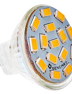 Spot LED Blanc Chaud / Blanc Froid MR11 G4 5W 15 SMD 5730 310-320 LM AC 24 V