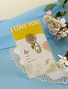 Gouden Zonnebloem Bookmark