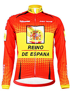 Kooplus - Español Nacional Cycling Team de manga larga Fleece Jersey