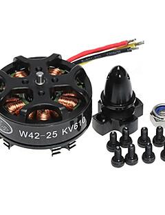 HLY W4225 610KV Brushless Motor(4 Motors)
