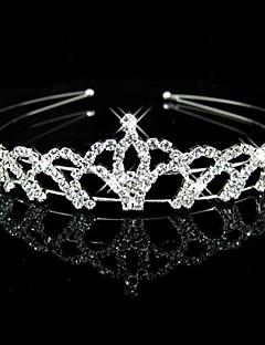 Women's Flower Girl's Rhinestone Headpiece-Wedding Headbands