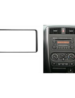 Radio Fascia Facia Trim installationssats för Suzuki Jimny 2006-2012