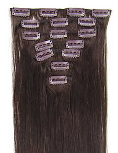 20inch 8pcs/set Indian Clip-in Hair 105g For Full Head(More Colors Available)