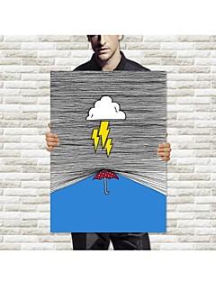 Canvastaulu Thunder