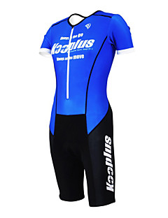 KOOPLUS® Tri Suit Women's / Men's / Unisex Short Sleeve Bike Breathable / Quick Dry / Moisture Permeability / Wearable / 3D PadCoveralls