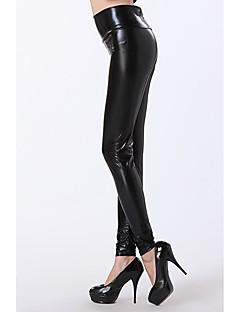 Schwarz hohe Taille Leggings