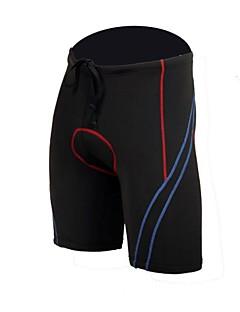 Jaggad azul y rojo inserto de gel acolchado unisex del verano Primavera Ciclismo Shorts