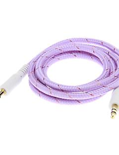 Weave Line Audio Jack pro připojení kabelu (Purple 1,0 m)