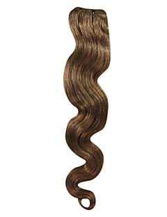 18inch année 5A Indian Remy Hair vague de trame corps 100g Plus de couleurs Avaliable