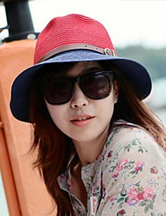 Women Straw Bowler/Cloche Hat , Casual Summer