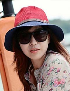 여성의 한국 혼합 색깔 태양 모자