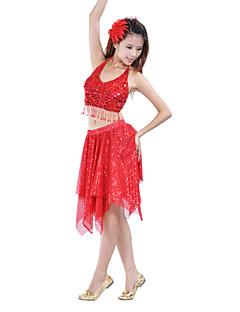 ベリーダンス スカート 女性用 訓練 ポリエステル 1個 スカート