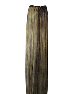 18inch Indian Hair Weave 100% Human Hair Silky Straight 100g More Colors Avaliable