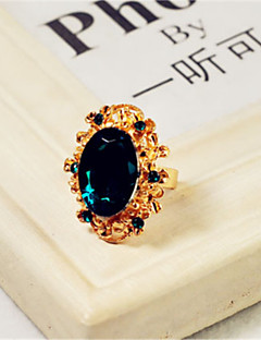 YIYI Fashion Vintage Luxe Dimonade Ring (Screen Kleur)