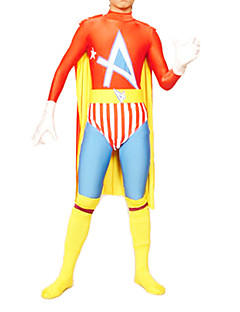 New Robin Superhero Zentai with Cloak Men's Cosplay Costume