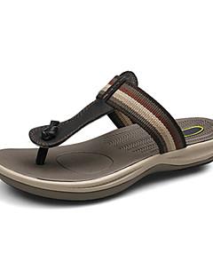 Scarpe da uomo Casual Di pelle Sandali Nero/Marrone