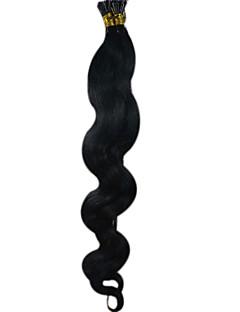 Cheveux 26inch bâton Je lève extension de cheveux 100g 1g cheveux de vague de corps s /