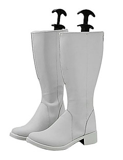 Hakkenden: Eight Dogs of the East Mitsuki Ayane PU Leather Cosplay Boots