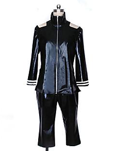 Ispirato da Tokyo Ghoul Ken Kaneki anime Costumi Cosplay Abiti Cosplay Collage Nero Top / Pantaloni