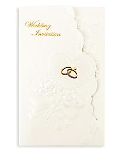Cartes d'invitation Invitations de mariage Plis Roulés Non personnalisés 50 Pièce/Set