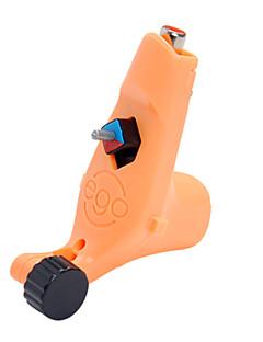 -Draad snijden Oranje Tattoo Machine Gun voor liner en shader