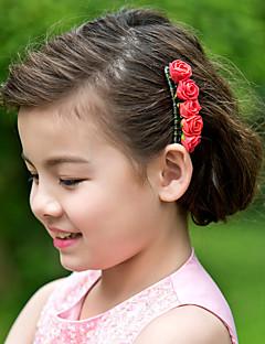 Mulheres Menina das Flores Espuma Capacete-Casamento Ocasião Especial Casual Pentes de Cabelo