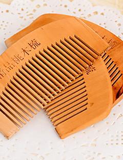 Peach Wooden Comb