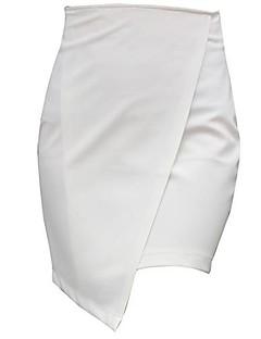 Mulheres saia de fenda Short Skirt Package Saias