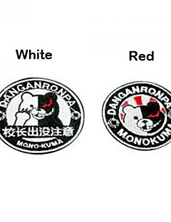 Dangan Ronpa Monokuma No.AB2 Cosplay KLÄDER lapp / Patch