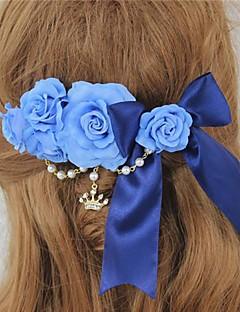 블루 로즈와 활 감미로운 공주 로리타 머리핀