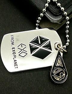 EXO SO HO Drip Alloy Necklace